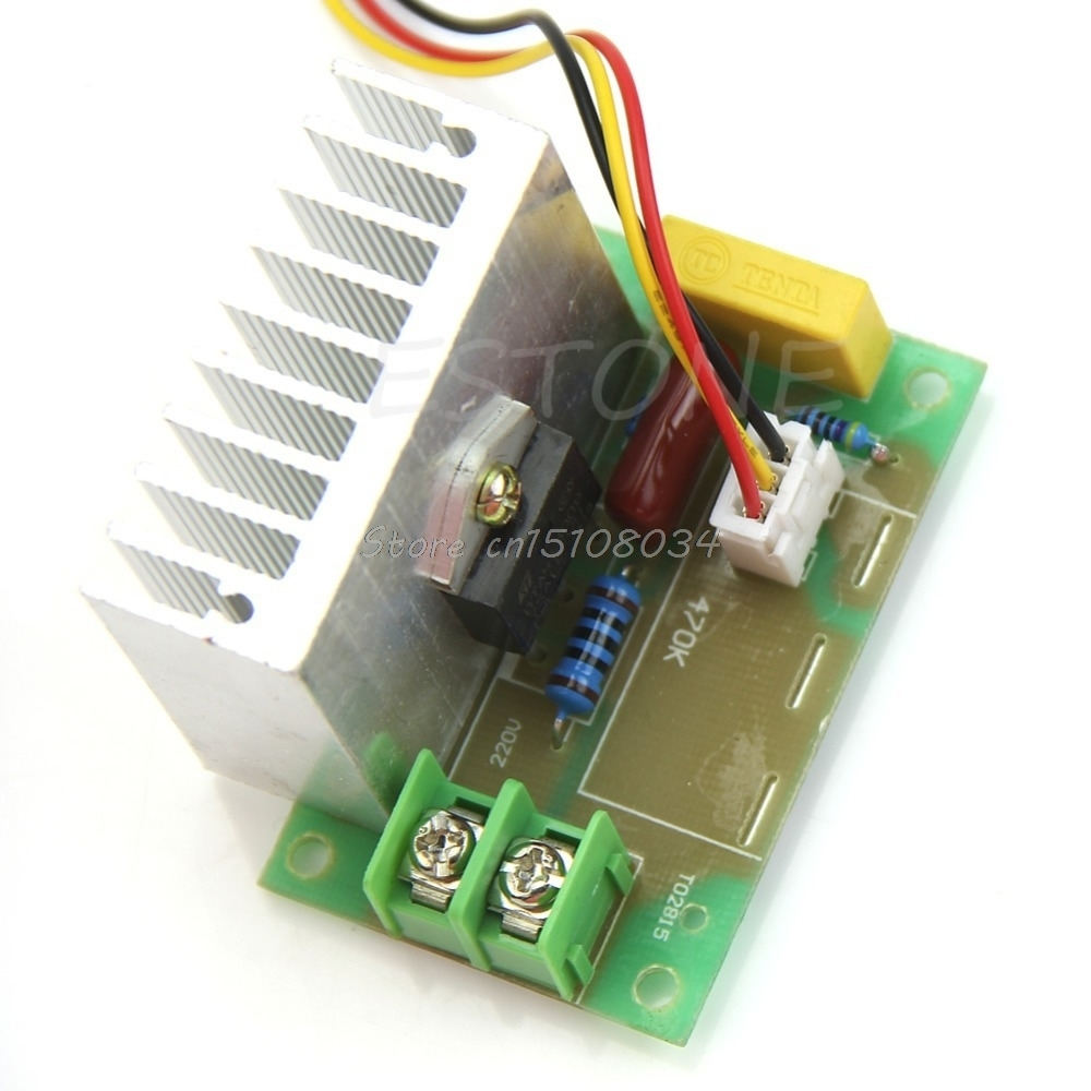 4000W High Power Thyristor Electronic Volt Regulator Speed Controller Governor #S018Y# High Quality