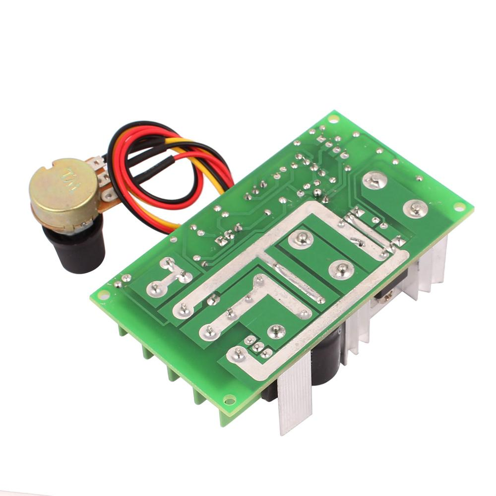 Universal 12V 24V 36V 48V 20A PWM DC Motor Speed Regulator Controller Switch