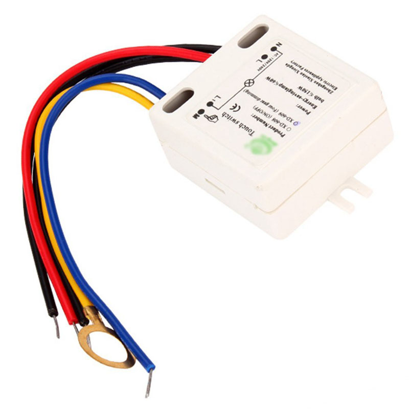 Practical XD-609 4 Mode On/Off Touch Switch Sensor For 220V LED Lamp --M25