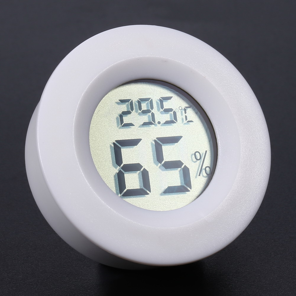 Mini LCD Digital Thermometer Hygrometer Fridge Freezer tester Temperature Humidity Meter detector High Quality