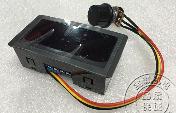 Motor Servomotor Governor Generator CCM5D PWM Speed Control Switch DC6V-30V 12V 24V MAX 8A with Digital Display