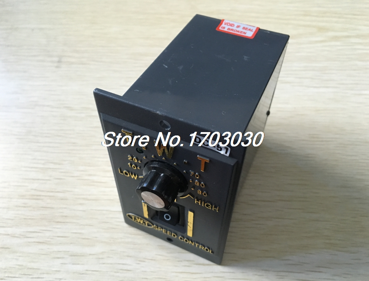 AC 220V Input Panel Mount DC Motor Speed Controller Switch 24V