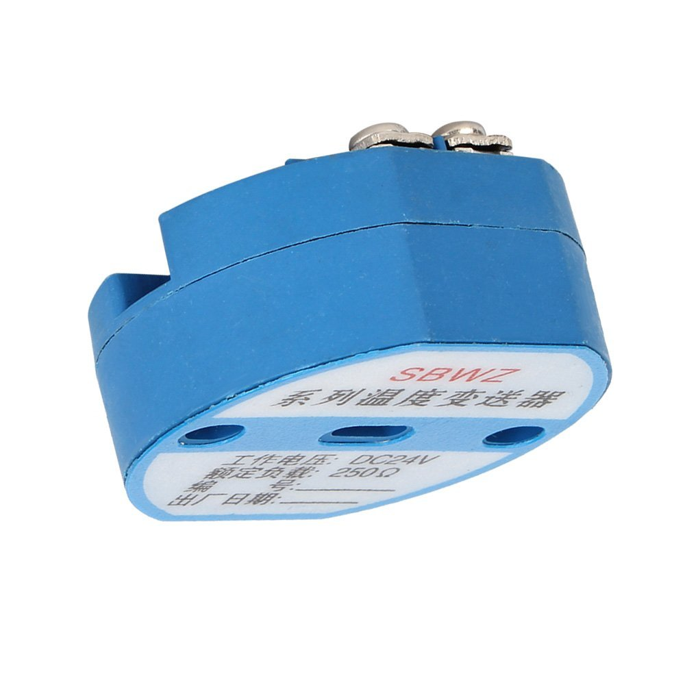 RTD PT100 Temperature Transmitter DC24V Minus 50 ~ 100 degree Output 0-10V