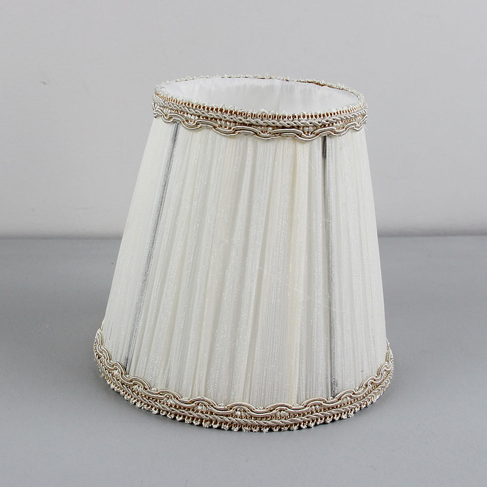 Dia 14 5cm 5 7inch High Quality White Chandelier Lamp Shades
