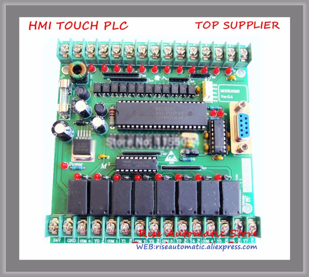 New Original 20MR Single board plc STM32 MCU 12 input point &