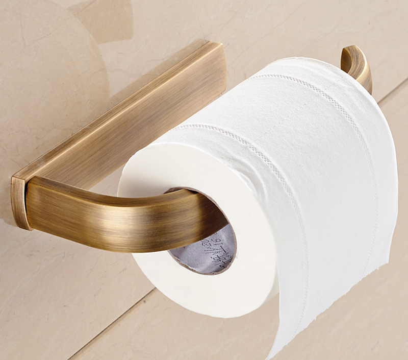 Classic Euro Style Bathroom Accessories Autique Bronze Brass Toilet Tissue Paper Holder Wall Mounted Paper Box