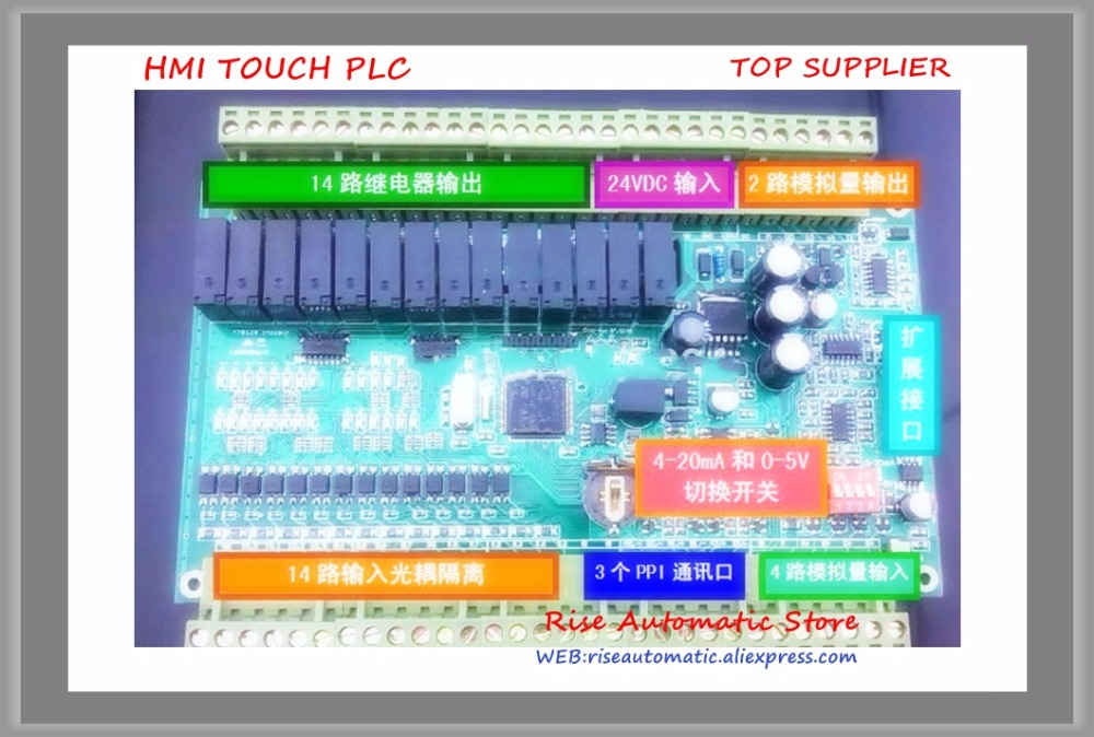 NEW 14 input 14 Relay output Single board PLC CPU224RXP-28