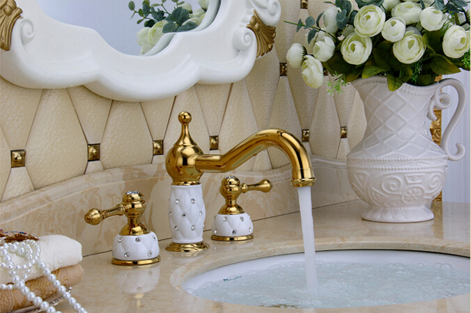 7 Faucet Finishes For Fabulous Bathrooms: Basin Faucet Brass Oil Rubbed Bronze Modern Bathroom Sink