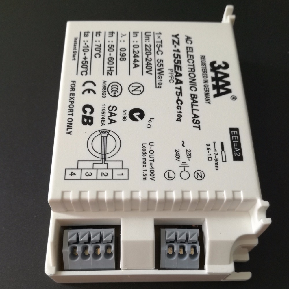 3aaa 55w 220 240v Instant Start Ac Fluorescent Lamp Electronic T5 Ballast Wiring Q The Reef Tank For C