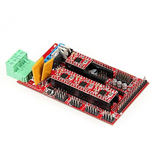 RAMPS 1.4 Control Board + 5X A4988 Stepstick Driver Module for 3D Printer RepRap