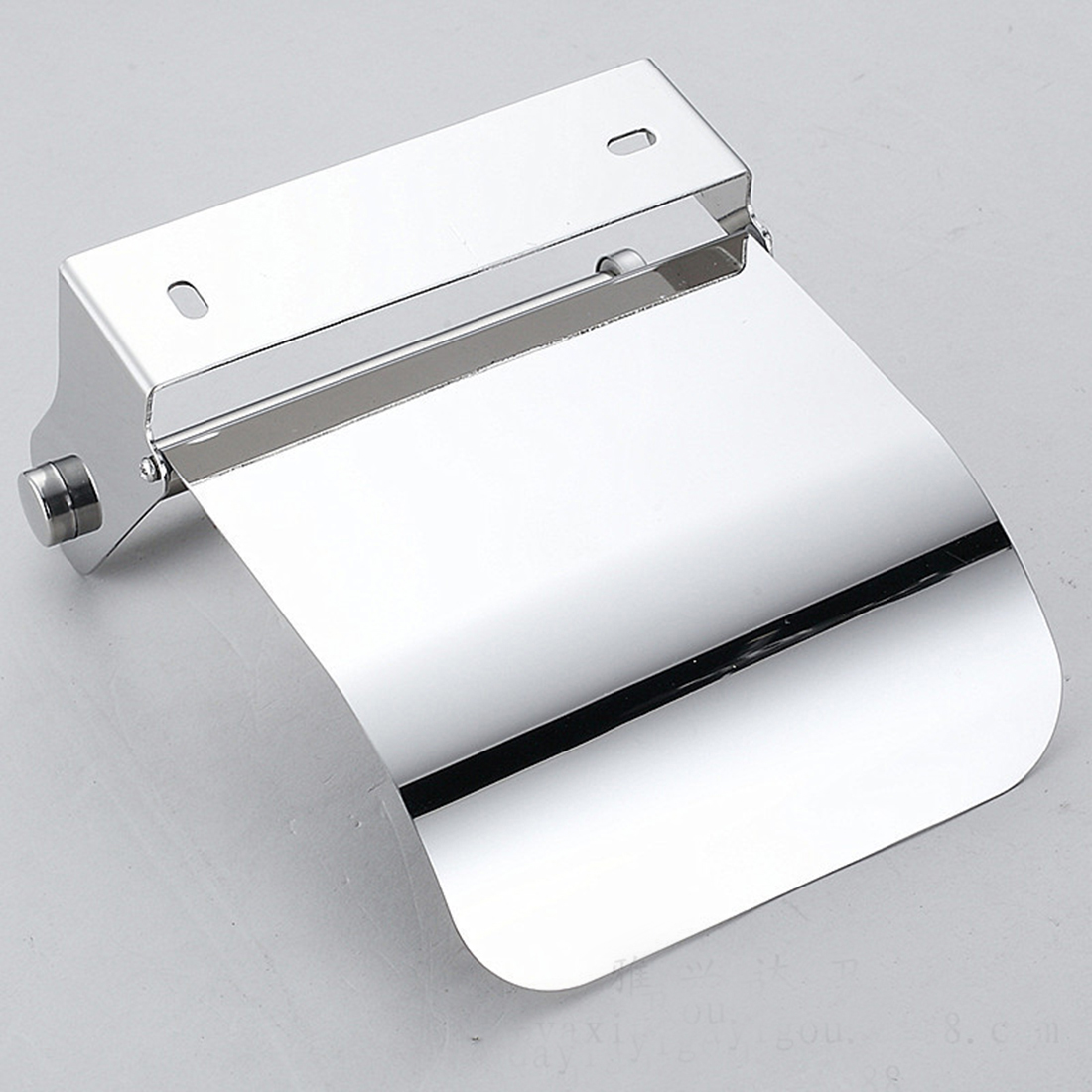 Stainless Steel Toilet Paper Roll Holder Creative Bathroom Wall Mount Rack Toilet Paper Holder Bathroom Accessories Paper Box
