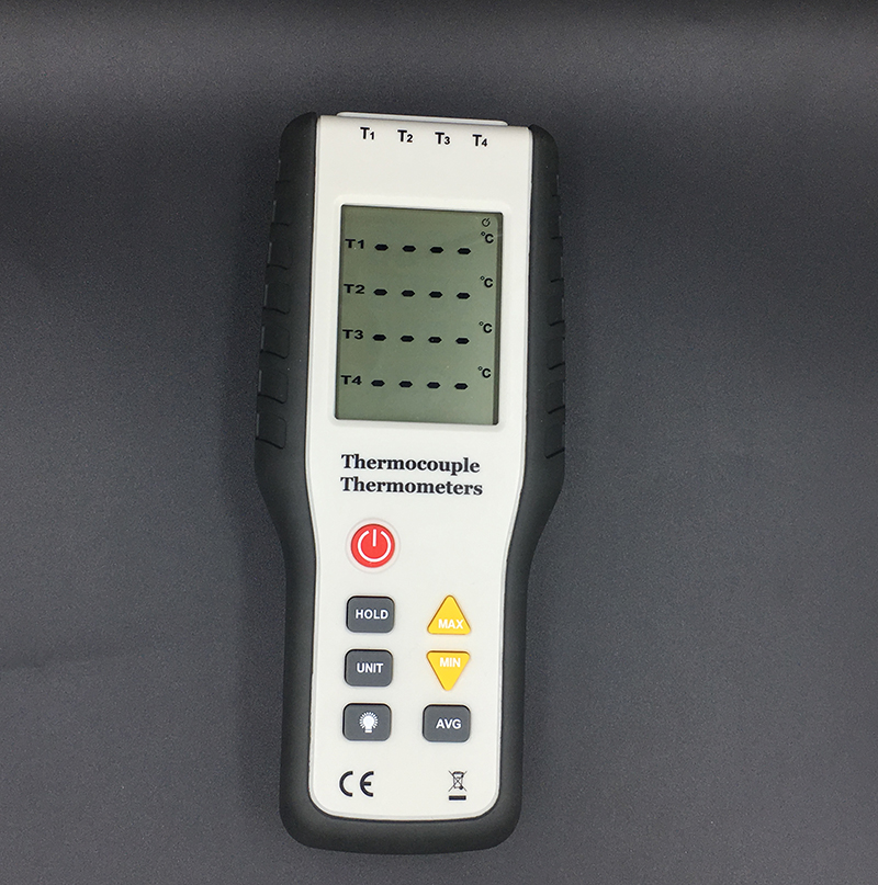 HT-9815 Digital K type Thermocouple Thermometer thermocouple probe sensor industrial temperature tester -200C-1372C Dual channel