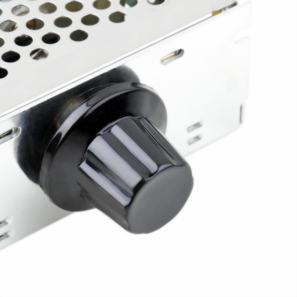 4000w Ac 220v Scr Voltage Regulator Electric Speed Controller Dimmer