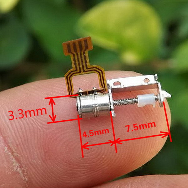 10 Pcs/Lot 2-Phase 4-Wire Micro Miniature Screw Rod Stepper Step Motor Drive
