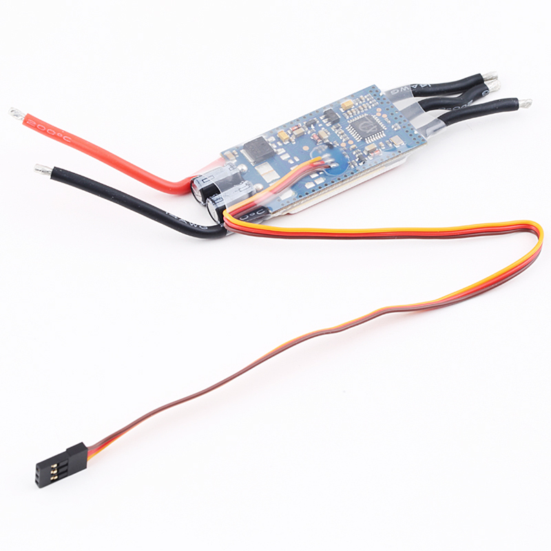 ZTW Spider Series 40A OPTO Brushless Speed Control ESC 2-6S Lipo for Multi-Rotor Helicopter