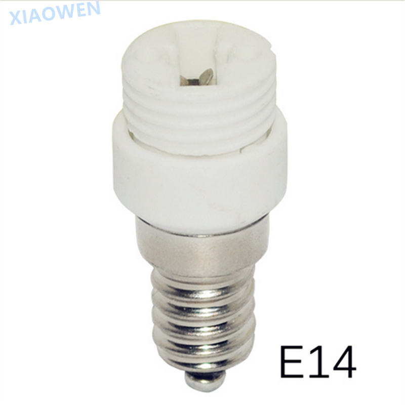 E14 TO G9 adapter Conversion socket High quality ceramic material fireproof material ocket adapter Lamp holder 2pcs/lot