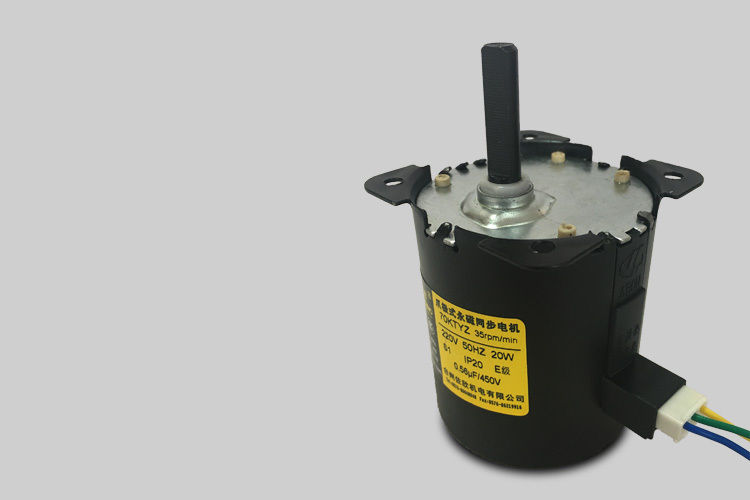 70KTYZ AC 220V 110V 0.19A 30W 8mm Shaft Diameter Synchronous Gear Motor 30RPM 35RPM 40RPM 70RPM