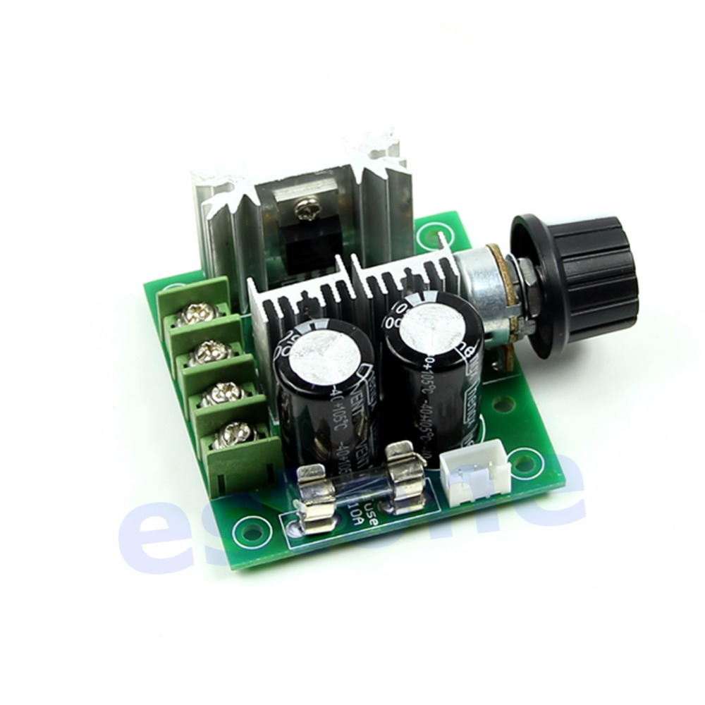 12v 40v 10a Pulse Width Modulator Pwm Dc Motor Speed Control Switch Is A Circuit To Uses Modulation Governor New