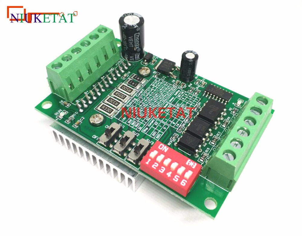 1pcs TB6560 3A Stepper motor drives CNC stepper motor board Single axis controller 10 files motor controller board new original