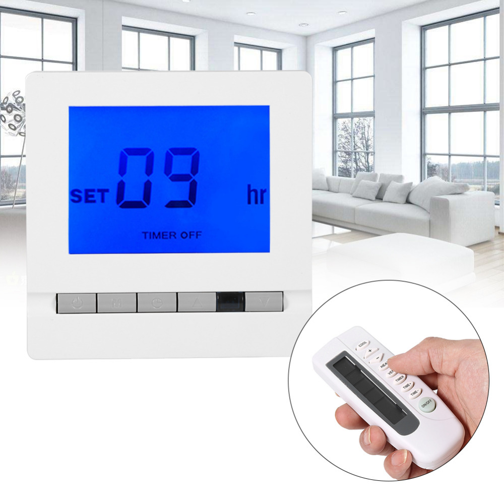 Electric Floor Heating Room Touch Screen Thermostat Warm Floor Heating System Thermoregulator 220V Temperature Controller