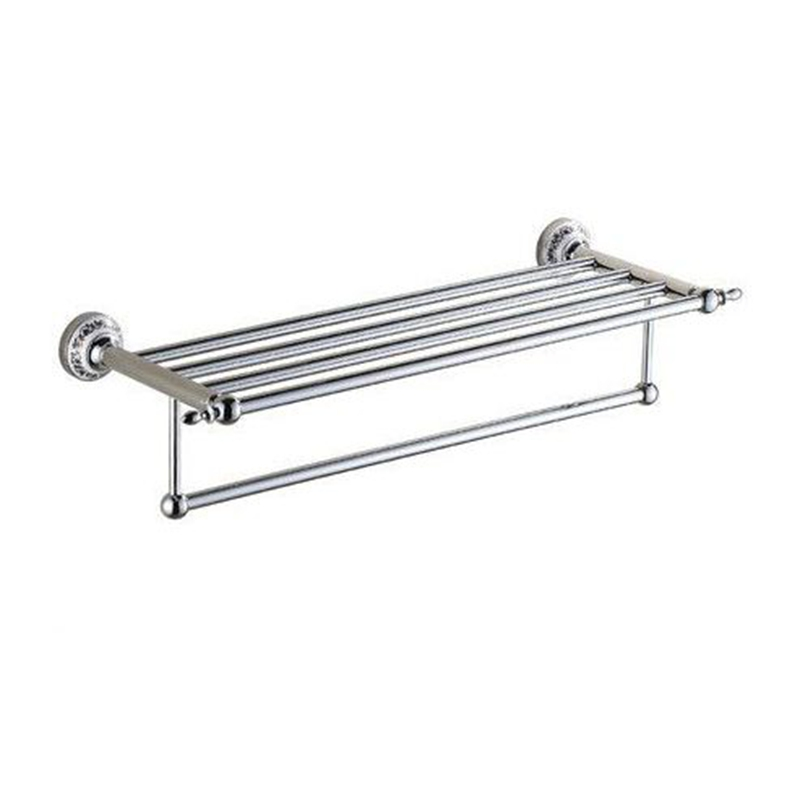 Xogolo Stainless Steel Towel Rack Accessories Double Layer Fashion Bath Towel Hanger Wholesale And Retail Towel Holder