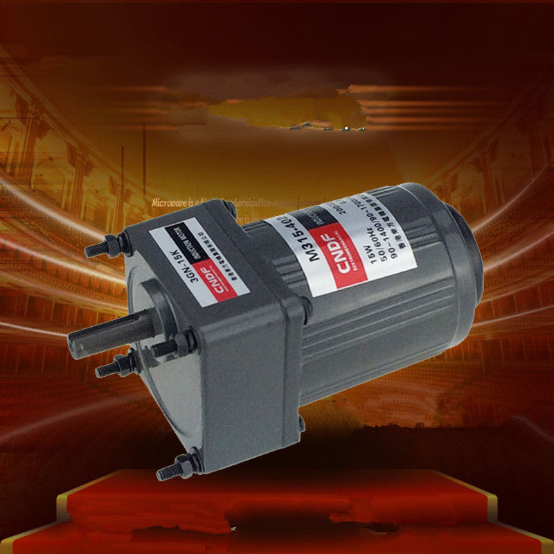 AC Vertical Gear Motor Governor Adjust the speed 15W M315-402 Single phase 110V/115V 220V/230V 7RPM-450RPM 3GN