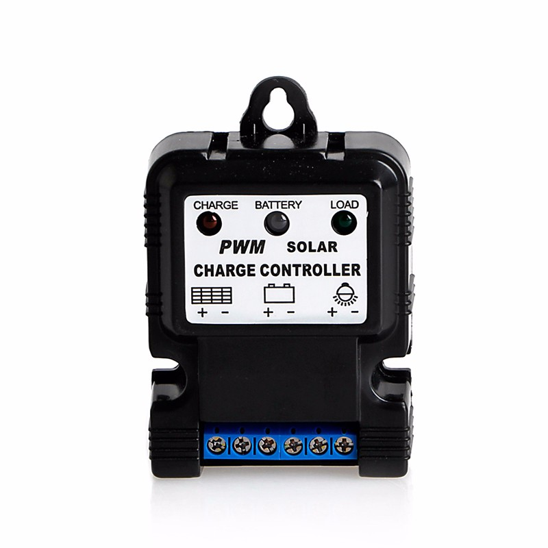 6V 12V 10A Auto Solar Panel Charge Controller Battery Charger Regulator PWM Hot  -Y122