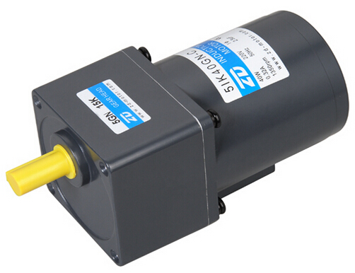 40W speed control motor with gearbox with a gear ratio of 3:1 to adjust the speed 0-500 r / min flange size 90x90mm