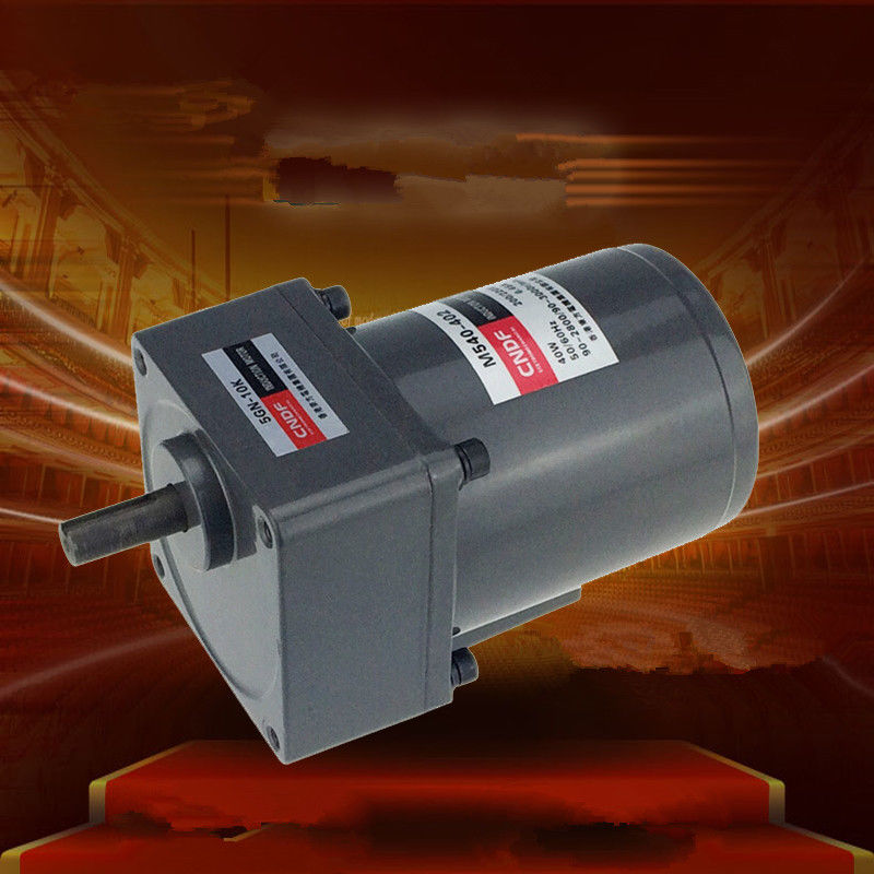 AC Vertical Gear Motor Governor Adjust the speed 40W M540 Single Phase 110V/115V 220V/230V 7RPM-450RPM 5GN