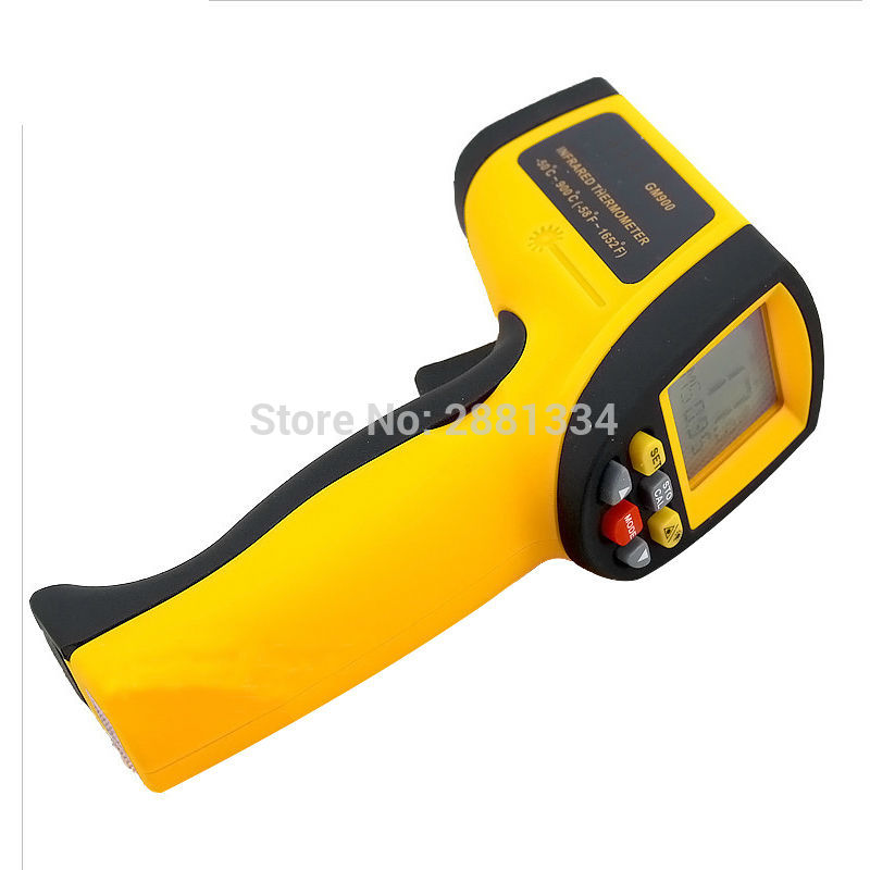 GM900 Thermometer Digital IR Laster Infrared Temperature Meter Non-contact LCD Gun Style Handheld -50-900C -58-1652F Pyrometer (3)