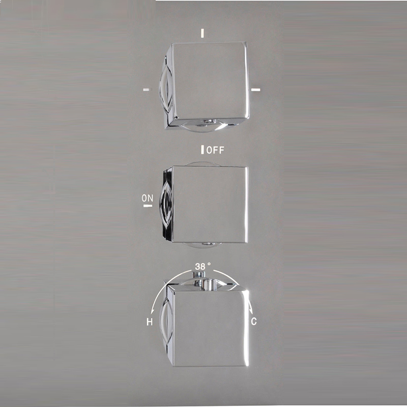 LED Luxury New Modern Rain Shower Set Faucet Chrome Polished Shower Head  Hand Shower Spray Mixer Tap
