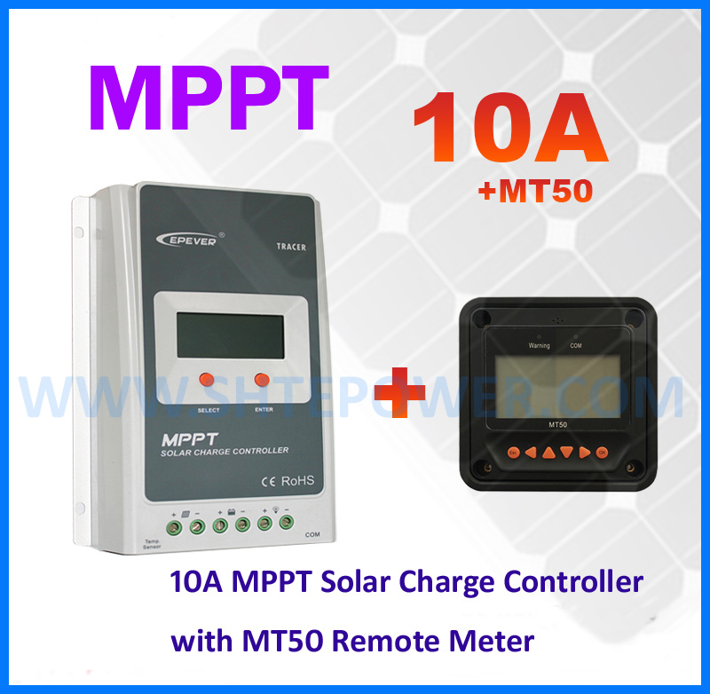 New EPsolar MPPT 10A Tracer Solar Charge Controller 12v 24v LCD display EPEVER Solar Panel Battery Charge Regulator Tracer1210A