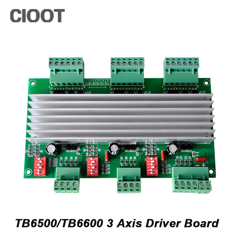 TB6560/TB6600 Three Axis Stepper Motor Driver CNC Motor Driver Board 4A 42/57 Two Phase Driver Board With 32 Subdivision