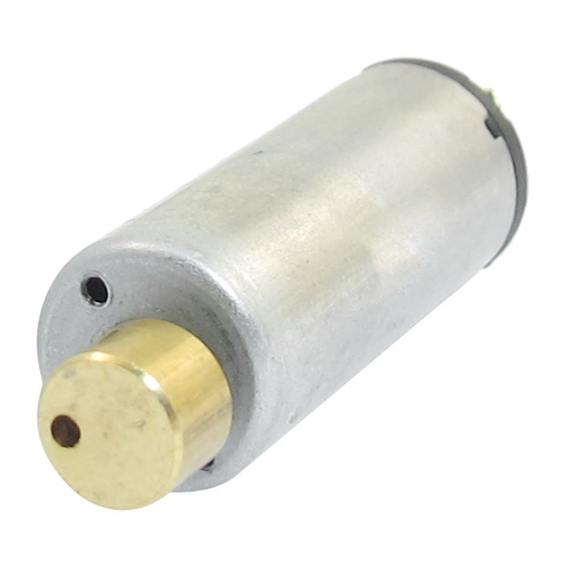 DC 1.5-6V 1750-7000RPM Output Speed Electric Mini Vibration Motor Silver+Gold