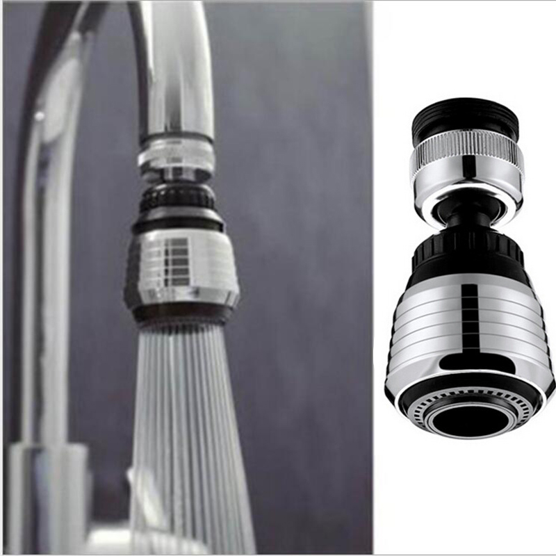 360 Degree Water Saving Shower Swivel Head Adapter Tap Kitchen Faucet Aerator Connector Diffuser Nozzle Filter Mesh Adapter