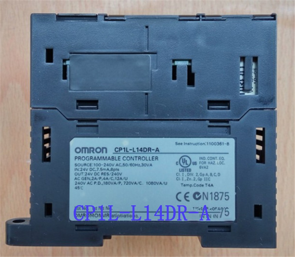 8 DI 6 DO Relay CP1L-L14DR-A AC100-240V PLC Programmable Logic Controller New Original L14DR