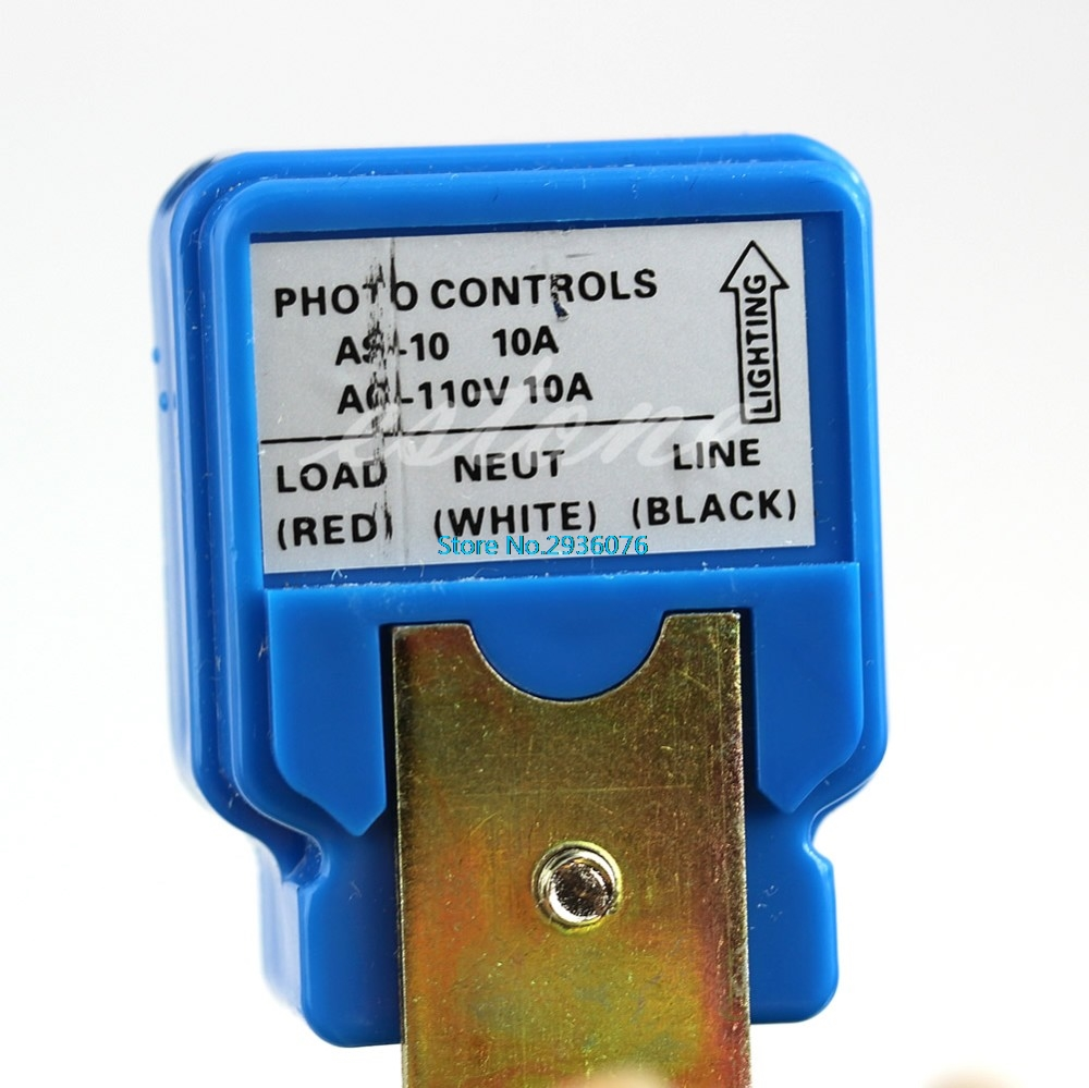 Auto On Off Light Switch Photo Control For AC110V Sensor APR20_30