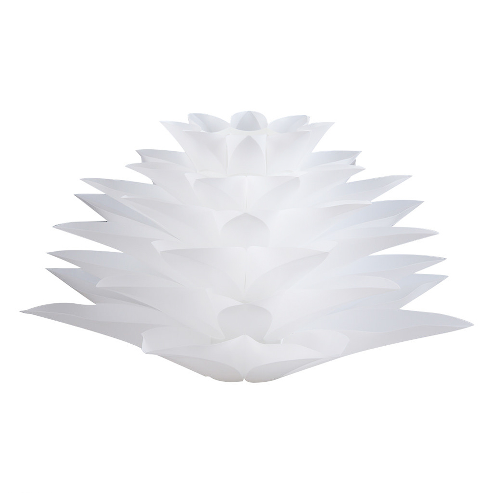 Lotus Shape DIY Ceiling Lamp Shade Christmas Decor White