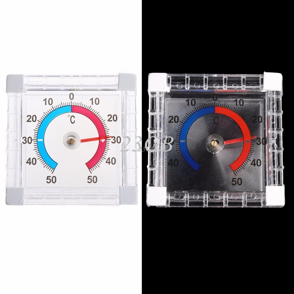2017 NEW Temperature Thermometer Window Indoor Outdoor Wall Greenhouse Garden Home MAY02_20
