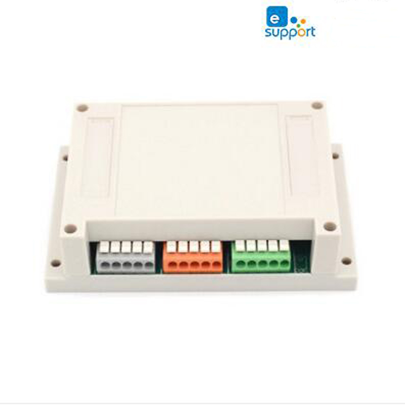 itead sonoff 4ch 4 Channel WiFI Switch Din Rail Mounting Wireless intelligent on off switch 10A/2200W for smart home Automation