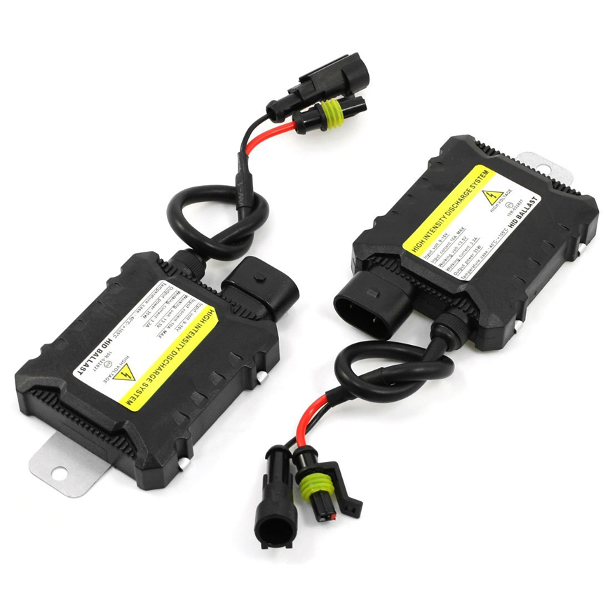 Pair Car HID Xenon Mini Ballast 35W 10A 12V for H1 H3 H7 H8 H9 H10 H11