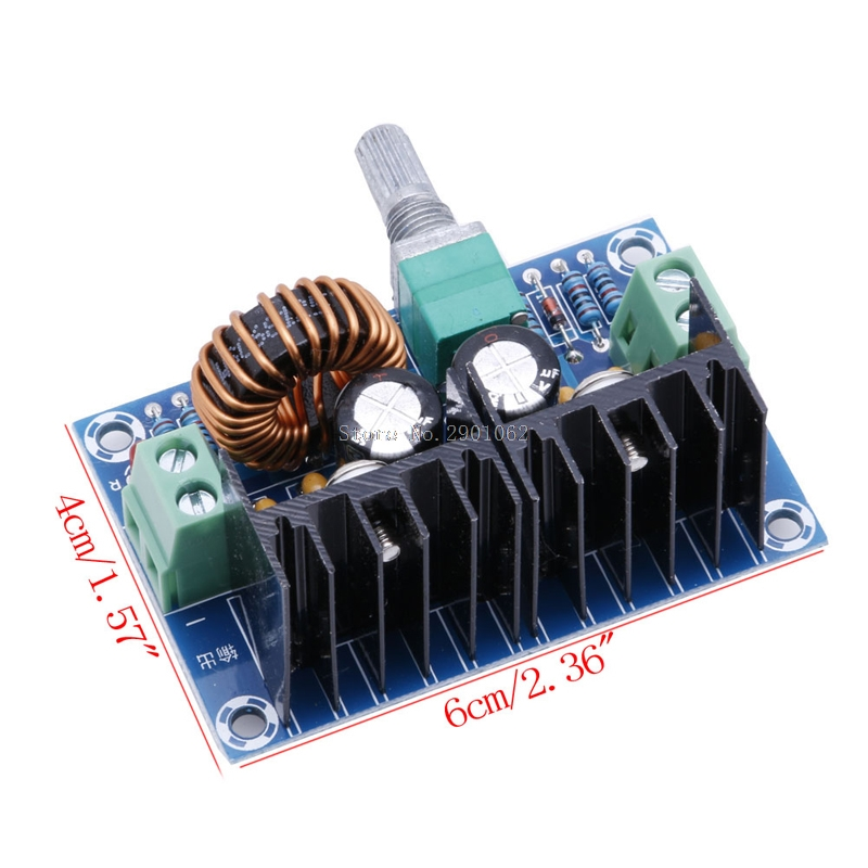 DC-DC 5V-40V To 1.2-36V Buck Converter 8A 200W Adjustable Step Down Power Module -B119