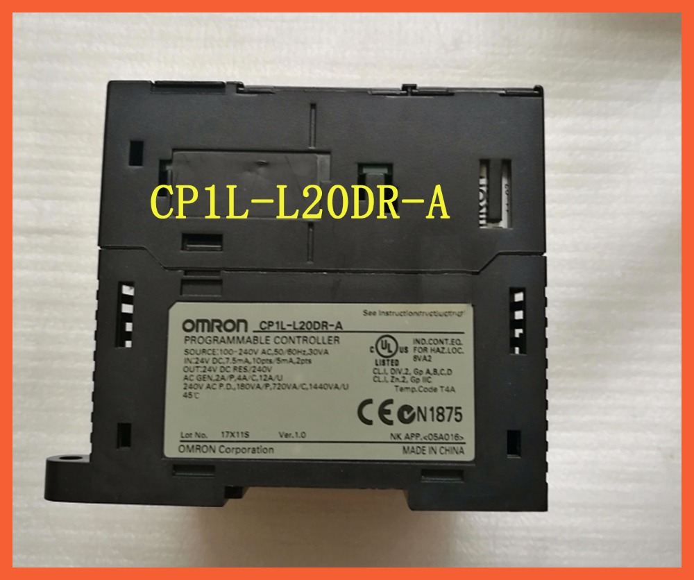L20DR CP1L-L20DR-A Original New PLC CPU 100-240VAC input 12 point relay output 8 point OMRON PLC CONTROLLER , PLC MODULE