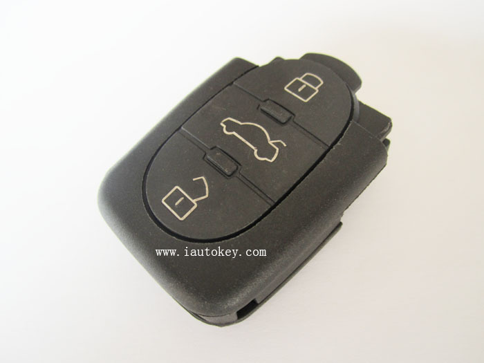 10pcs/lot VW Remote Control 433MHZ:1J0 959 753 B for Volkswagen Car Keys