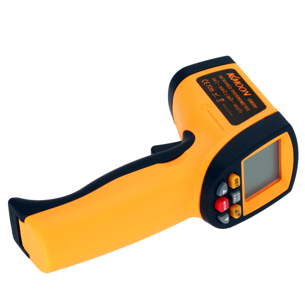 Kkmoon Infrared Thermometer Laser Non-contact IR Digital Temperature Tester Pyrometer Range