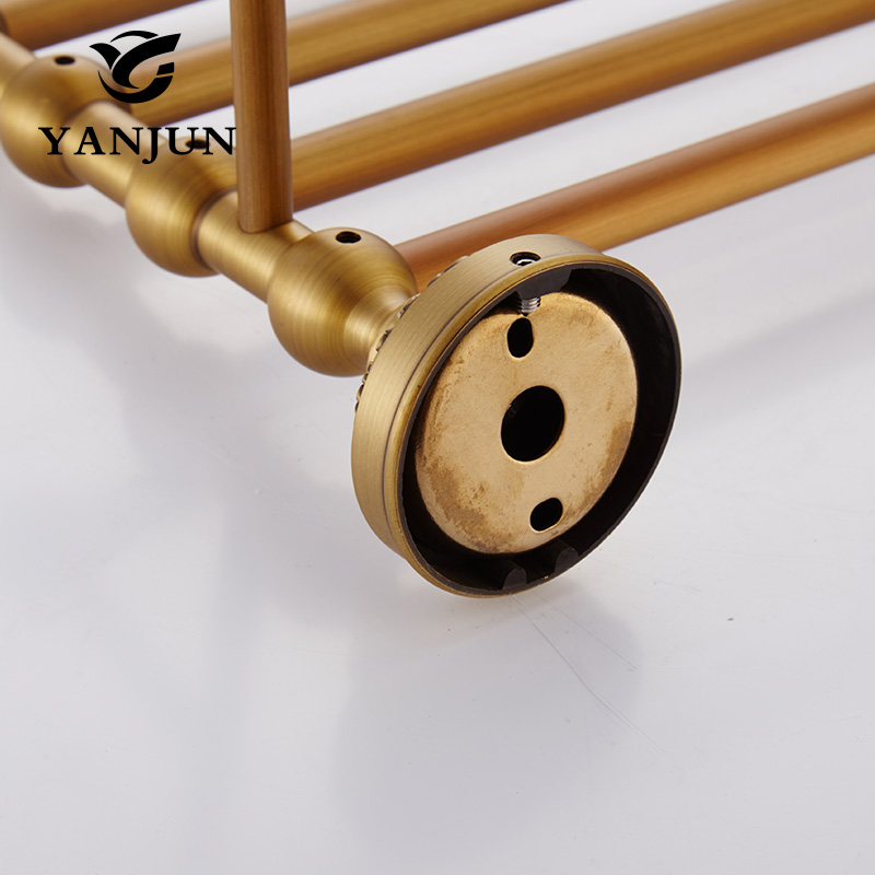 YANJUN High Quality  Brass Towel Racks Bathroom Accessories Christmas Decorations For Home YJ-7960