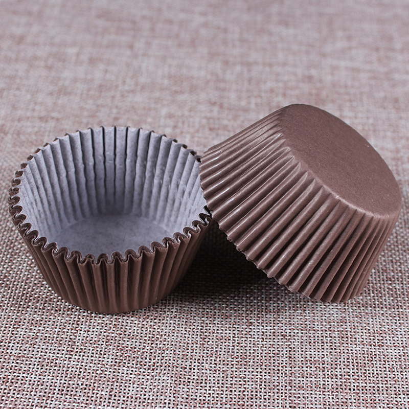 100PCS/Set Paper Cake Cups Baking Cups Paper Cupcake Stand Baking Egg Tarts Tray Kitchen Accessories Pastry Decorating Tools