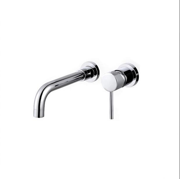 Bathroom Faucet Into the wall cold and hot Water Taps Basin Mixer torneira do banheiro Concealed Single Handles basin faucet