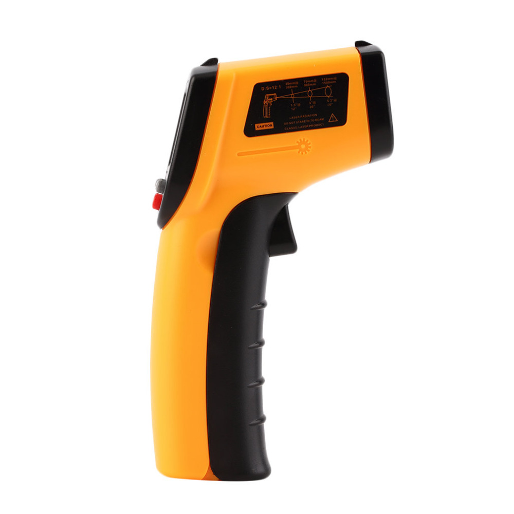 New Hot Laser LCD Digital IR Infrared Thermometer GM320 Temperature Meter Gun Point -50~380 Degree Non-Contact Thermometer T0.1