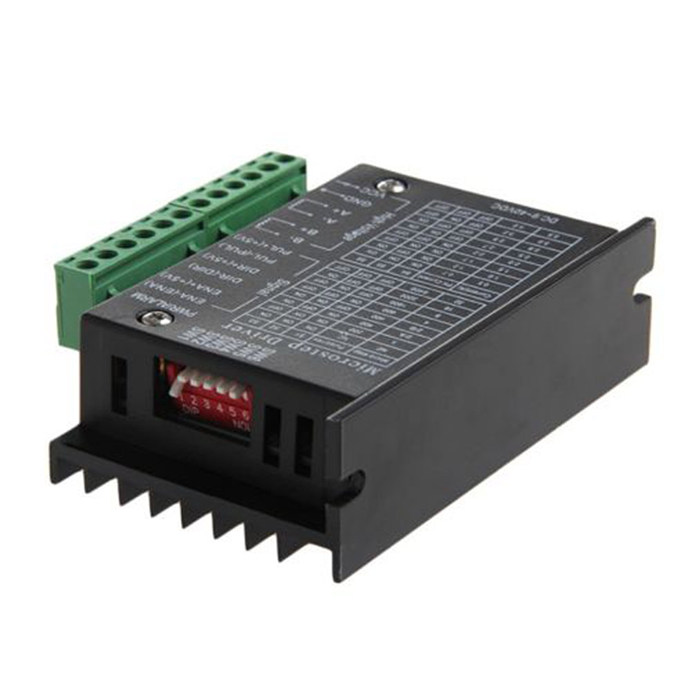 TB6600 Single Axis 4A Stepper Motor Driver Controller DC 9~40V Micro-Step CNC CLH@8
